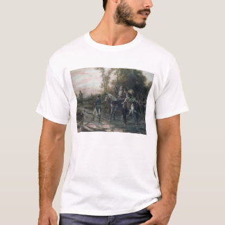A Foraging Party Returning to Camp (oil on canvas) T-Shirt
