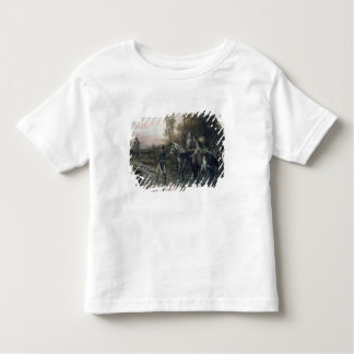 A Foraging Party Returning to Camp (oil on canvas) Tee Shirt