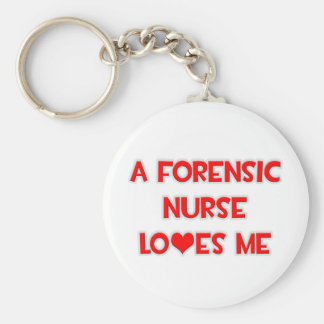 A Forensic Nurse Loves Me Keychains
