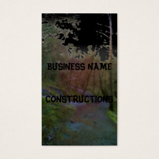 A forest business card