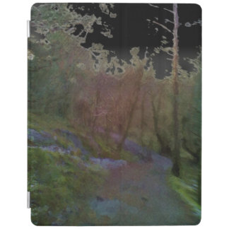 A forest iPad cover