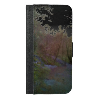 A forest iPhone 6/6s plus wallet case