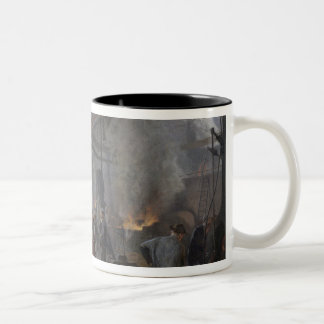 A Forge, 1893 Two-Tone Coffee Mug