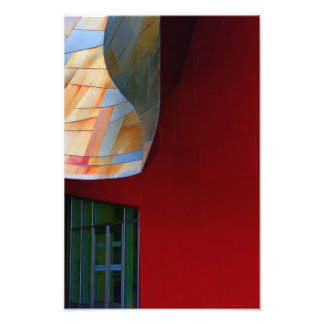 A Form Of Red. Art Photo