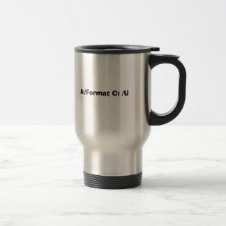 A:/Format C: /U Coffee Mug