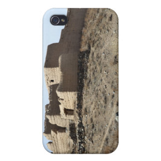 A fortified compound in the village of Akbar Kh iPhone 4 Cover