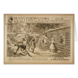 A Fortune Hunter, 'The Rescue at Eagle Rock Ranch' Cards