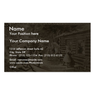 A Fortune Hunter, 'The Rescue at Eagle Rock Ranch' Pack Of Standard Business Cards