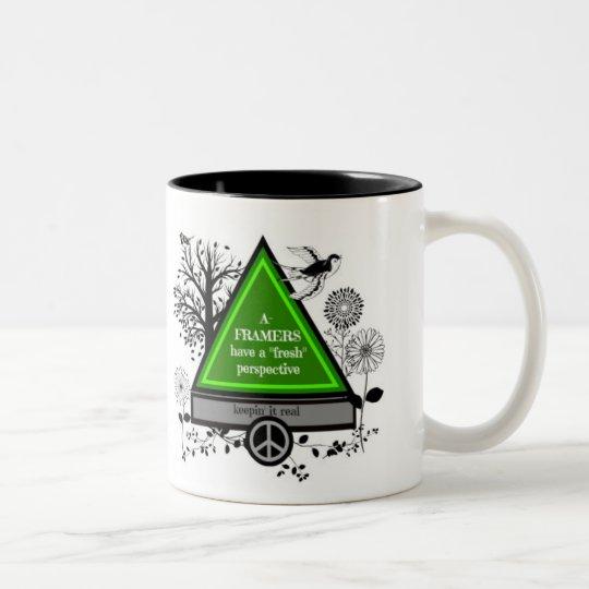 A Framers Two-Tone Coffee Mug