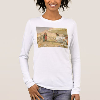 A Frank Encampment in the Desert of Mount Sinai, 1 Long Sleeve T-Shirt