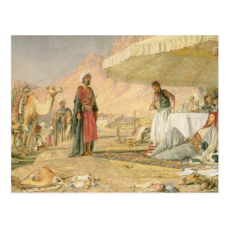 A Frank Encampment in the Desert of Mount Sinai, 1 Postcard