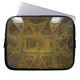 A frecoed ceiling by Raphael in the Hall of Laptop Sleeve