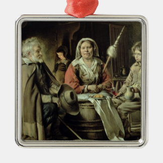 A French Interior, c.1645 Christmas Ornament