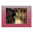 A French River Landscape by Louis Aston Knight Card
