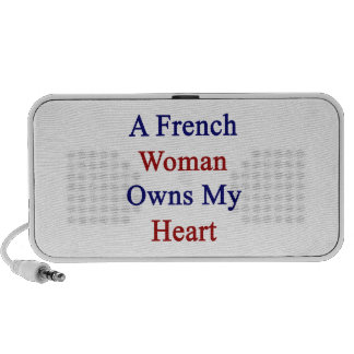 A French Woman Owns My Heart Mp3 Speakers