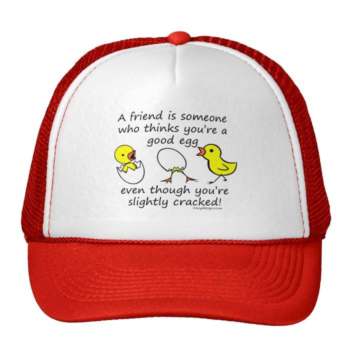 A friend is someone cap