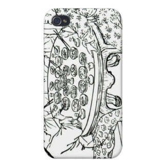 A Friendly Meal iPhone 4/4S Covers