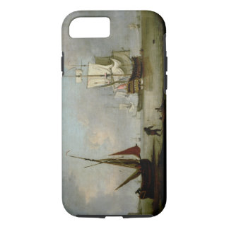 A Frigate in Calm Water iPhone 8/7 Case