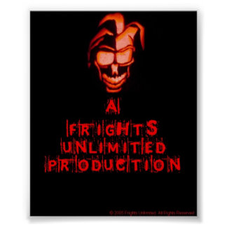 A frights unlimited production print