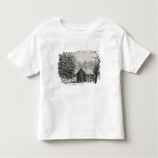 A frontier cabin, from 'The Pageant of America Toddler T-Shirt