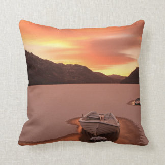 A Frozen Loch | Ruthven, Uk Cushion