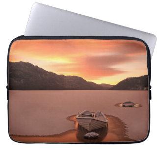 A Frozen Loch   Ruthven, Uk Laptop Sleeve
