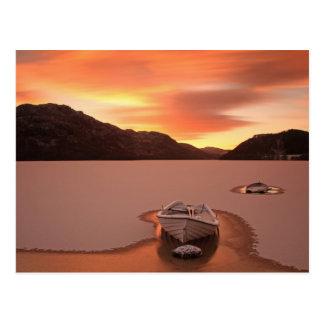 A Frozen Loch | Ruthven, Uk Postcard