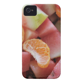 A fruit salad of melons and oranges iPhone 4 cover
