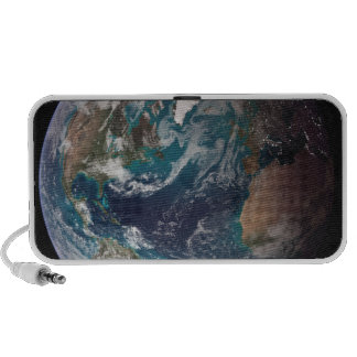 A full view of Earth showing global data 2 Travel Speaker