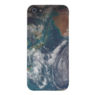 A full view of Earth showing global data Cover For iPhone 5/5S