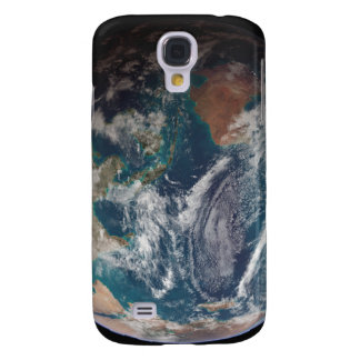 A full view of Earth showing global data Galaxy S4 Case