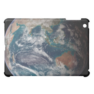 A full view of Earth showing global data iPad Mini Case