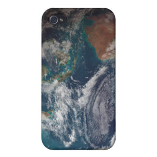 A full view of Earth showing global data Covers For iPhone 4