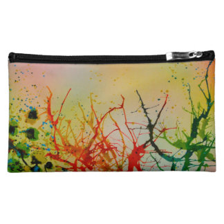 A Funky unique abstract Cosmetic/Make-up bag. Cosmetic Bags
