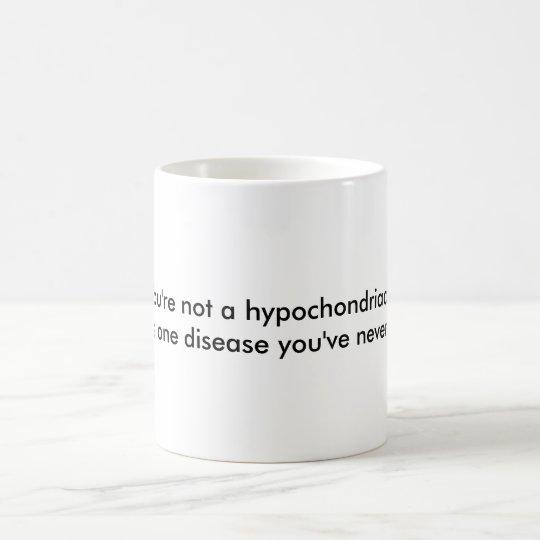 A funny get well mug