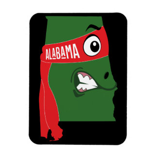 A funny map of Alabama Magnet