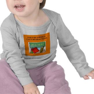 a funny math joke tee shirt