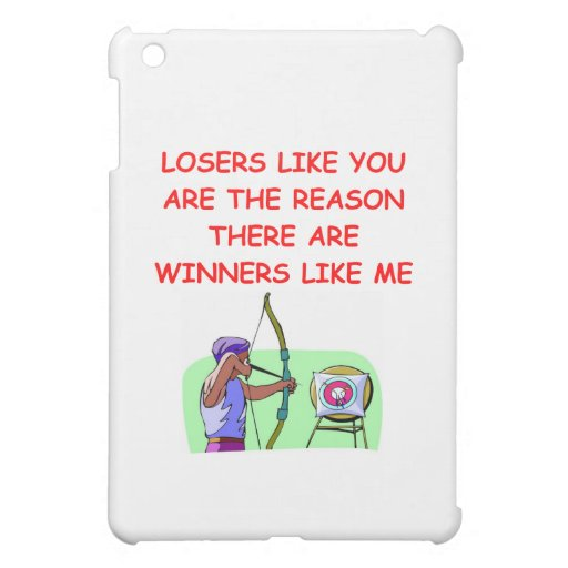 a funny winners and losers joke cover for the iPad mini