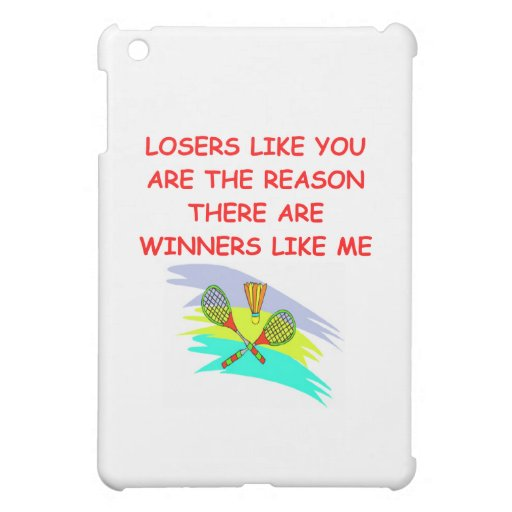 a funny winners and losers joke case for the iPad mini