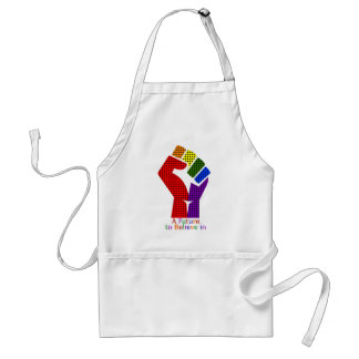 A Future to Believe in LGBT Standard Apron