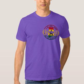 A.G.E., Inc. Ghana Flag Logo Shirt