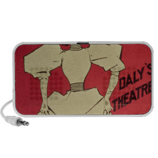 A Gaiety Girl at the Daly's Theatre Laptop Speaker