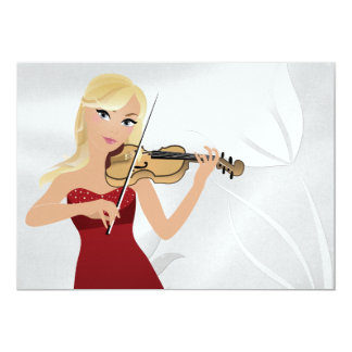 "A Gala Event - SRF 5"" X 7"" Invitation Card"