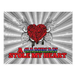 A Gambian Stole my Heart Postcard