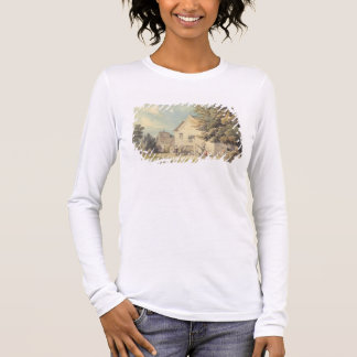 A Game of Bowls on the Bowling Green outside the B Long Sleeve T-Shirt