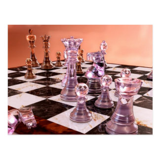 A Game of Chess Postcard