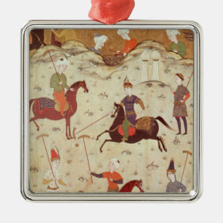 A Game of Polo Christmas Ornament
