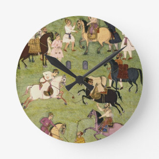 A Game of Polo, from the Large Clive Album Clock
