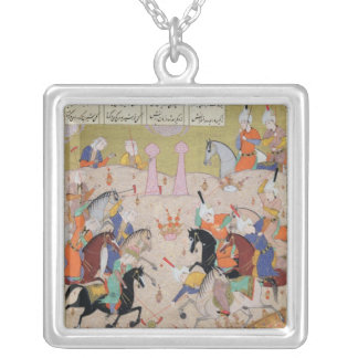 A Game of Polo Custom Jewelry
