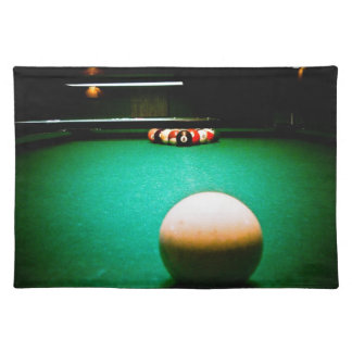 A Game of Pool American MoJo Placemats